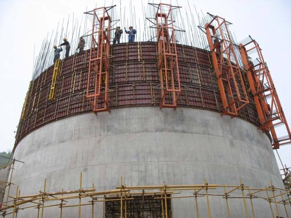 沅江30-50米烟囱新建