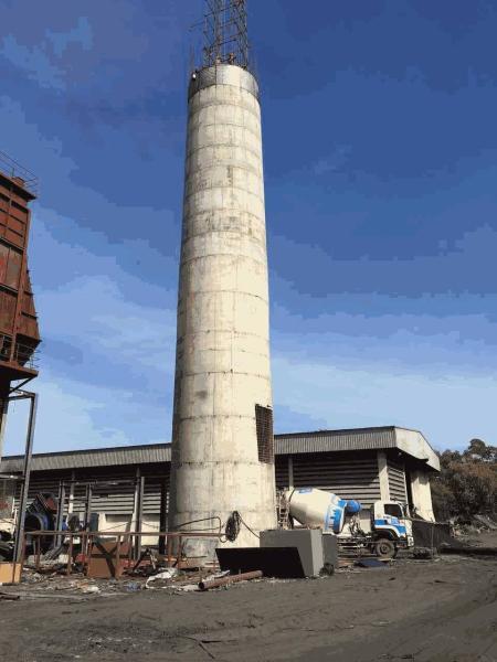 乌兰浩特30-80米水泥烟囱新建电话多少