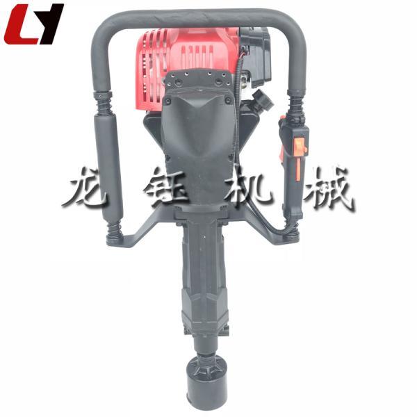 廠家直銷新款汽油立柱打樁機_可定做快速打樁機