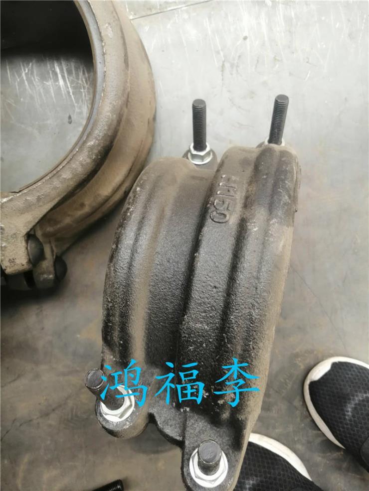 海淀区dn2200出口球墨铸铁衬塑管件球墨铸铁管件图片支持定制