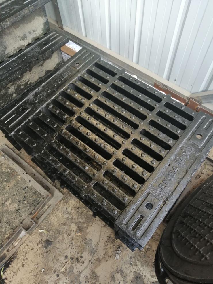 辽宁500X500加重型铸铁地沟盖板规格