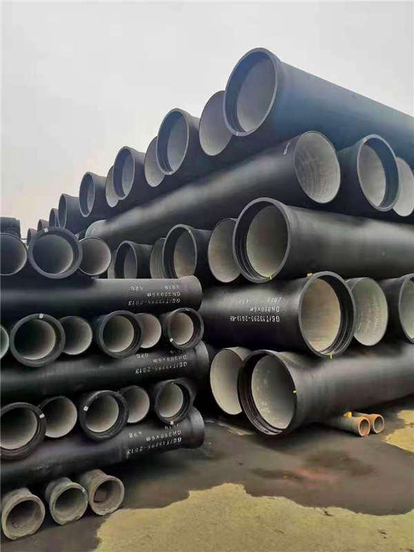 呼伦贝尔根河dn150消防用球墨铸铁管喷塑加工生产