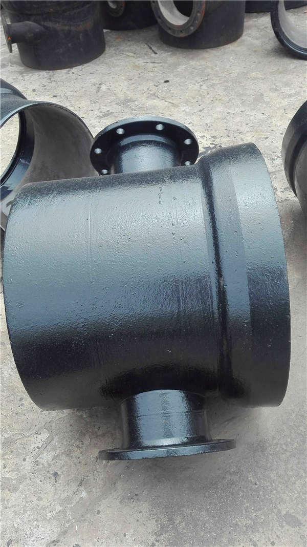 煙臺海陽dn350無壓力球墨鑄鐵管價格