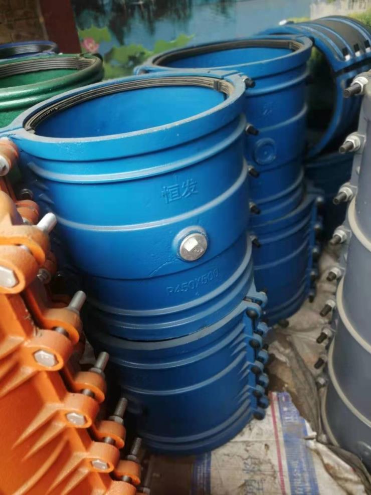 南平聚源铸铁管用dn300哈夫节现货
