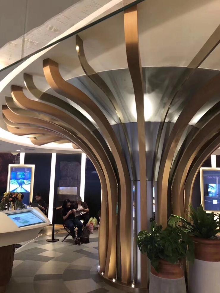 宜昌铝方通造型设计厂家批发价格低