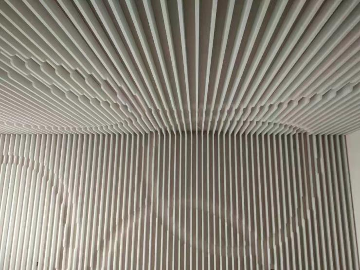 佛山白色彩色铝方通来样定制设计