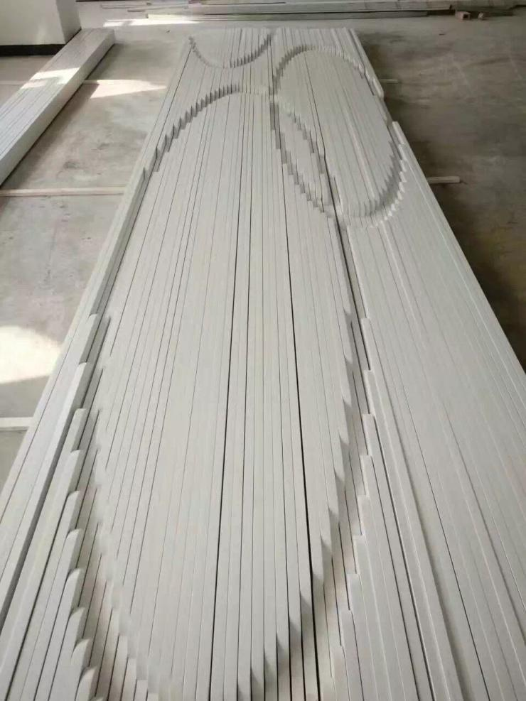 宣城弧形铝方通来样定制设计