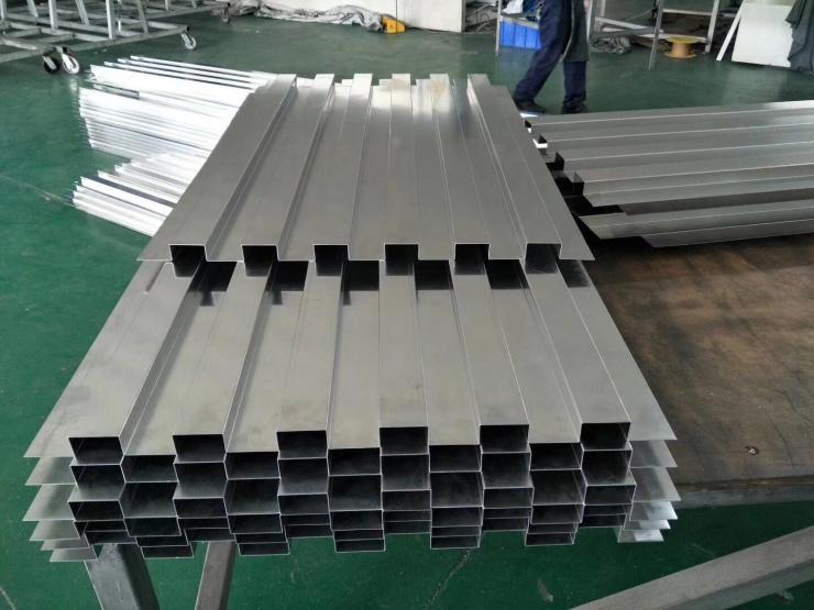 中山户外装饰铝方通多种规格可订做