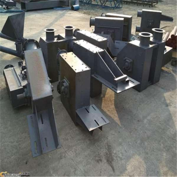 木屑粉管鏈輸送機 鏈式輸送機用途 LJXY 粉料刮板