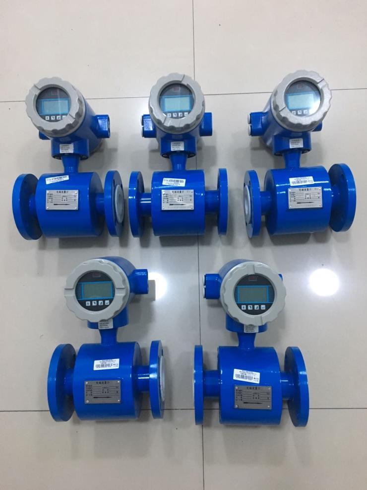 云南昭通食品厂污水流量计 电磁流量计青岛万安仪表