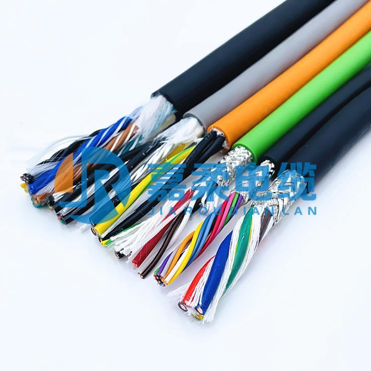 上海嘉柔切割机拖链电缆生产厂家