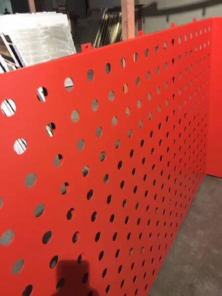 圆孔铝单板-乐平市外墙立面冲孔铝单板
