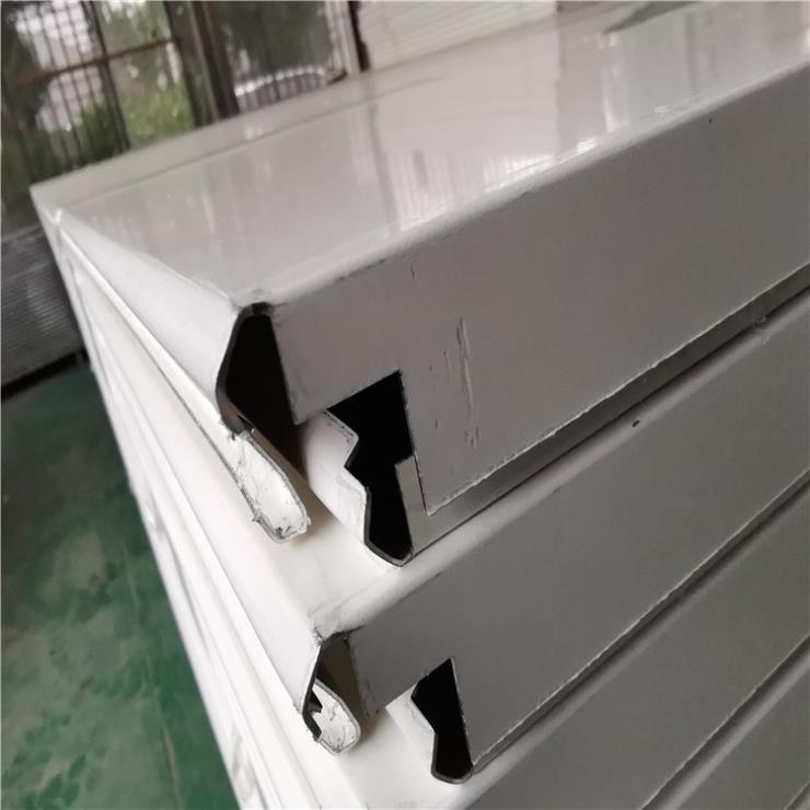 加油站防風條扣板-頂棚天花吊頂滾涂鋁條扣