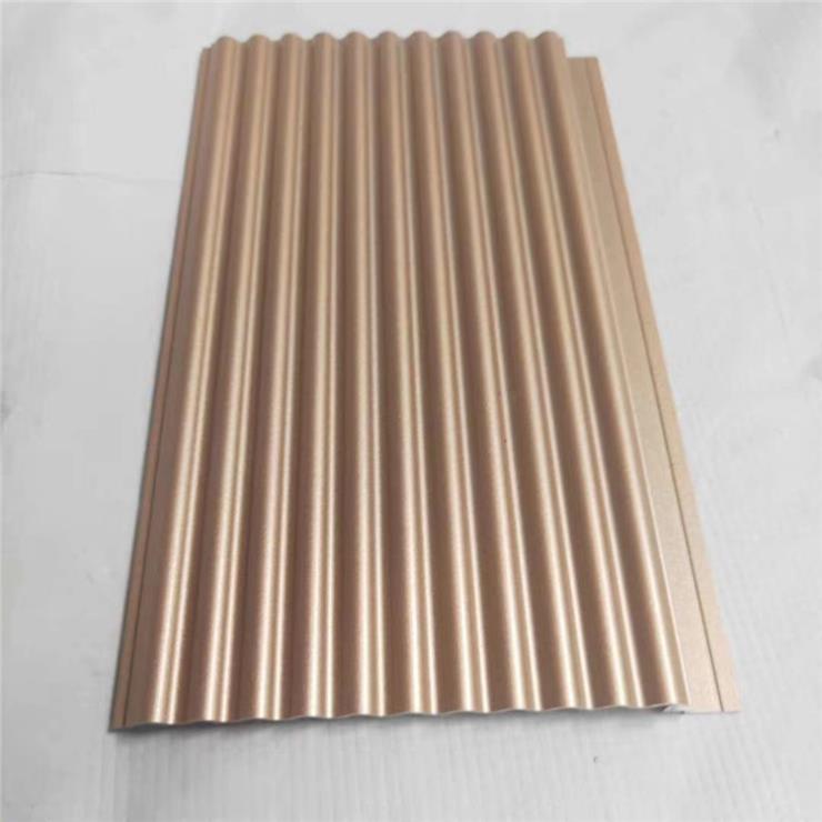 山西白色走廊墙面装饰铝板