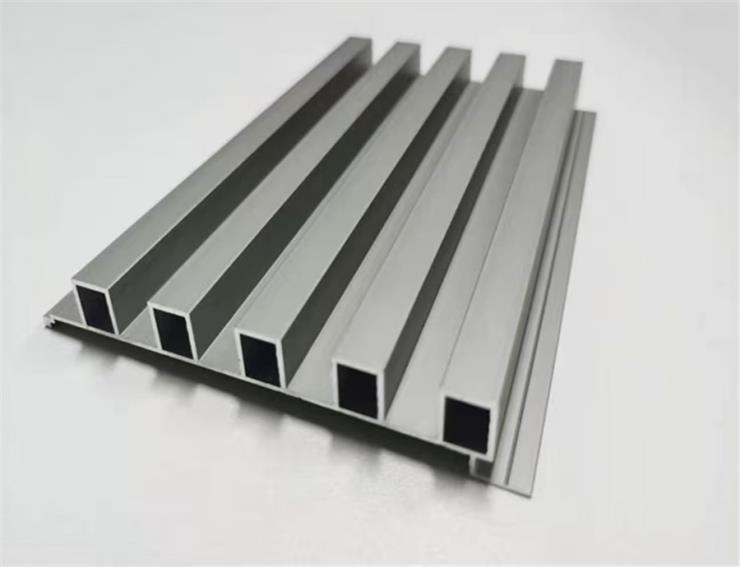 墙身凹凸铝型材长城板,背景墙波浪形型材铝板