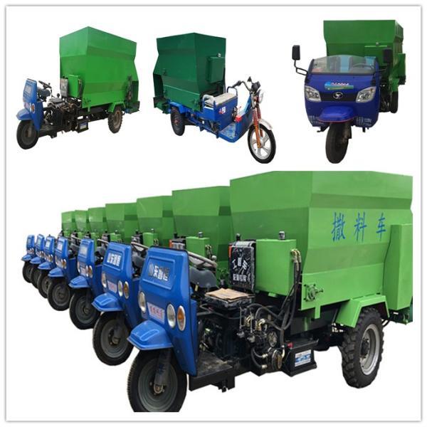 泉州机械化养殖投料车 车载式饲料撒料车