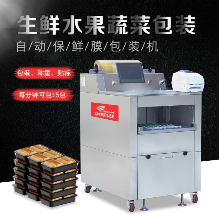 生鲜肉类果蔬保鲜膜包装机