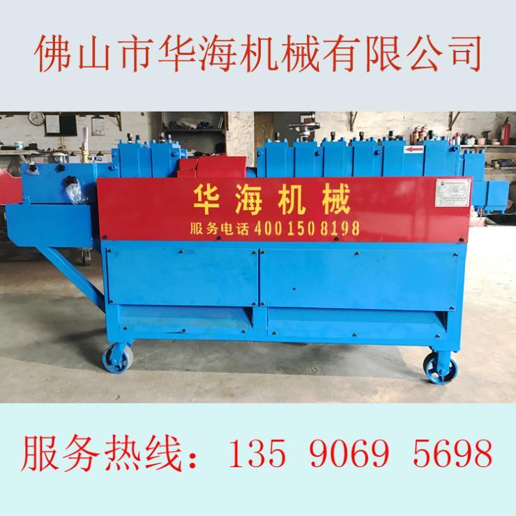 山东泰安钢管油漆机钢管调直除锈刷漆机价格实惠