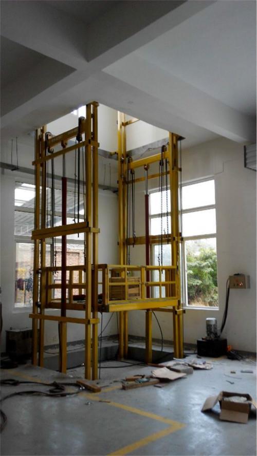 績溪縣導軌升降機價格-固定升降貨梯廠家