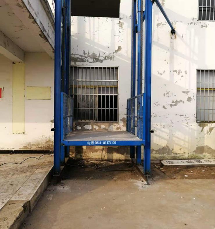 昌樂縣導軌升降機價格-4.7米升降貨梯廠家