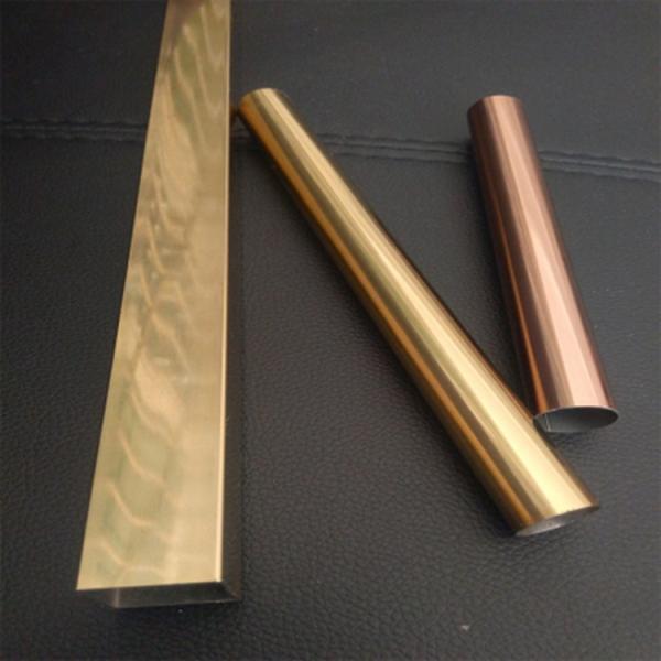 黄钛金不锈钢方管32*32*1.2