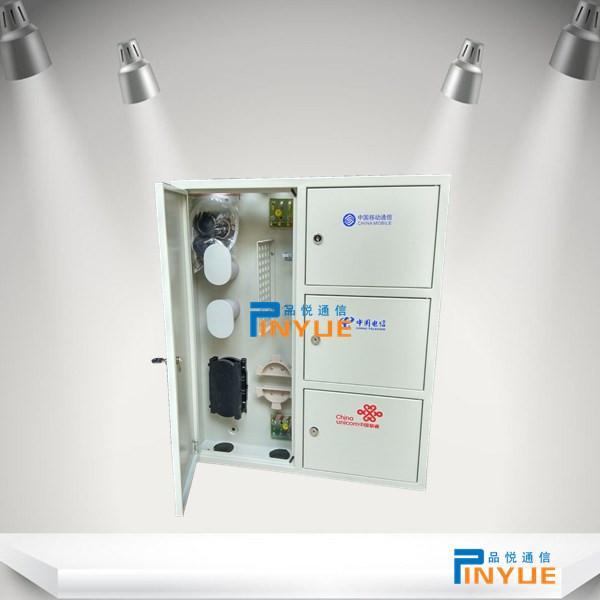 壁挂式12芯三网合一光纤网络箱规格满配介绍