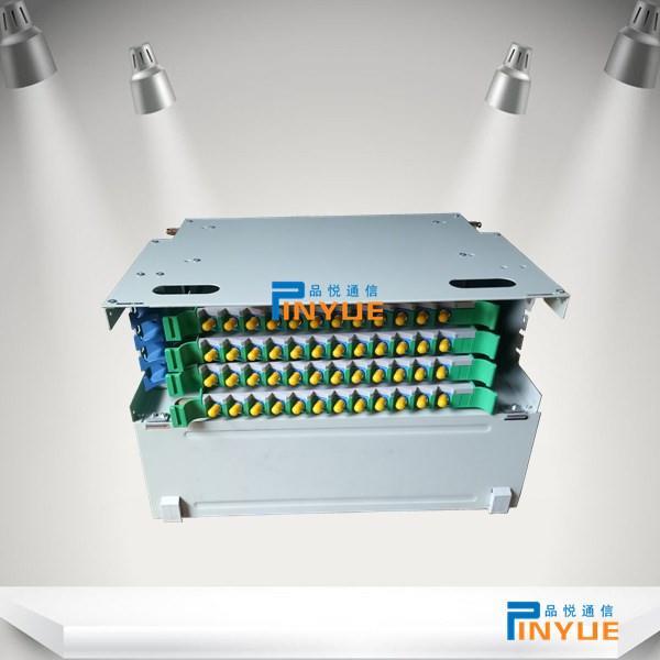 机架式48芯ODU光纤配线箱FC满配