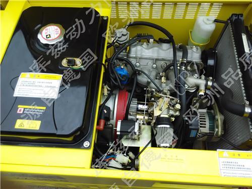 25KW水冷静音汽油发电机