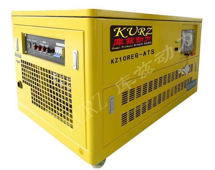 18KW水冷静音汽油发电机