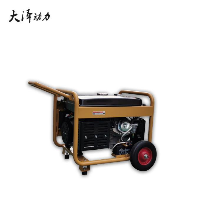 户外维修用190A小型汽油发电焊机