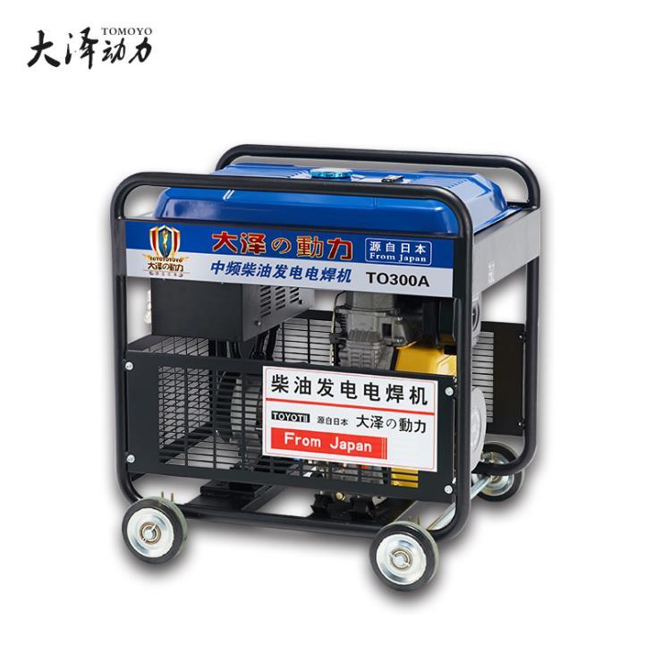 带冷库用300A小型柴油发电焊机