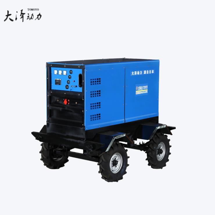户外施工用600A小型柴油发电焊机