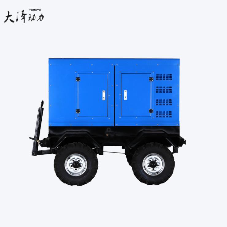 400A小型柴油发电焊机氩弧焊