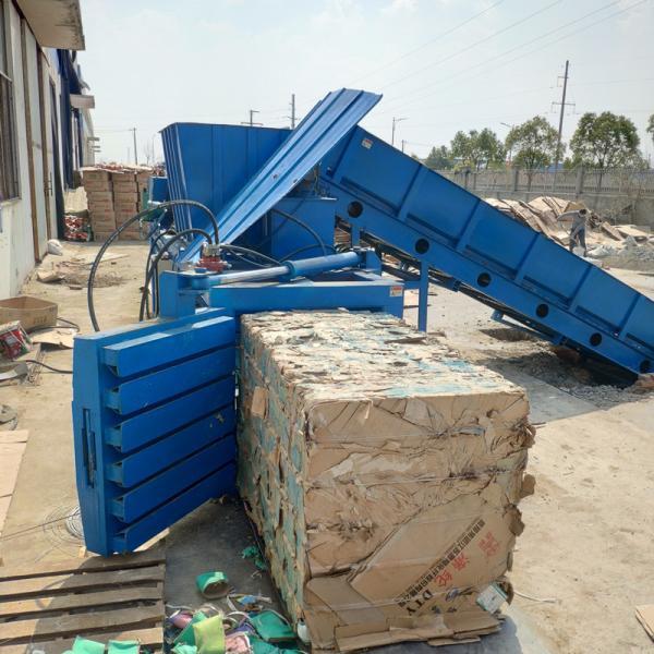 黄浦区鲁丰 双鹰纸箱厂160吨PLC海绵捆包机厂家报价