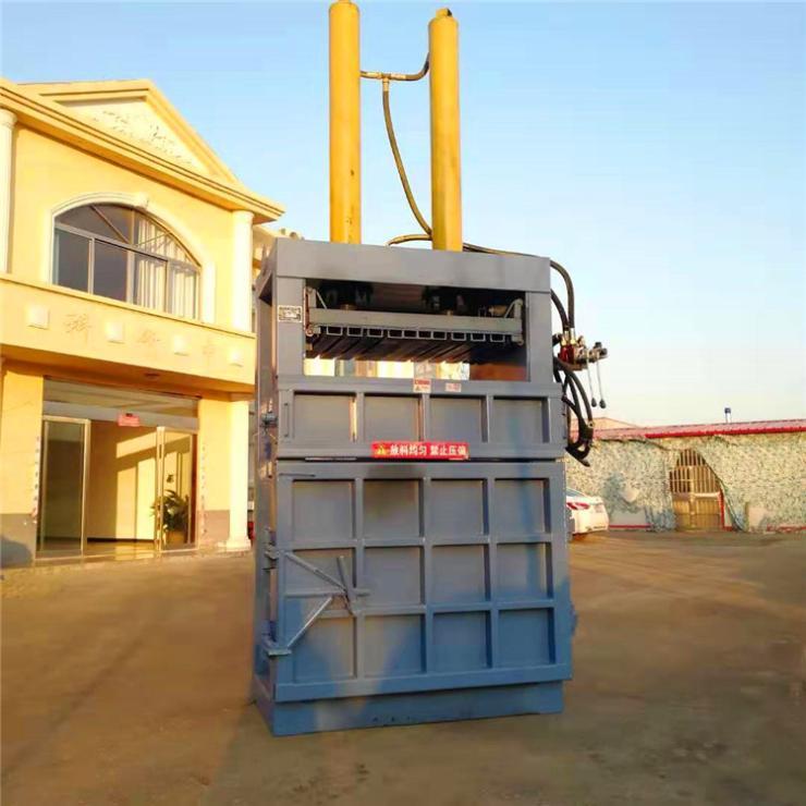 秦皇岛鲁丰机械废品收购站60吨80吨薄膜捆包机厂家直销