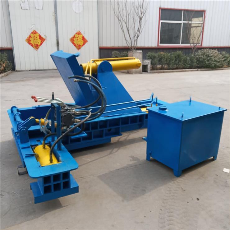 宣武区铸铜厂生铁屑压块机便于储藏运输采用柴油机作动力