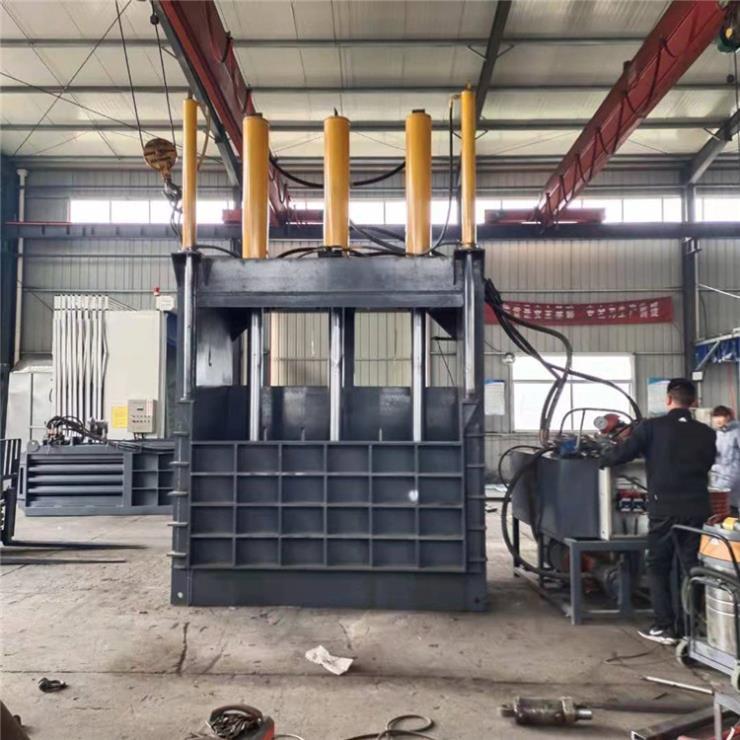 秦皇岛废品收购站240吨300吨黄纸板打包机厂家直销