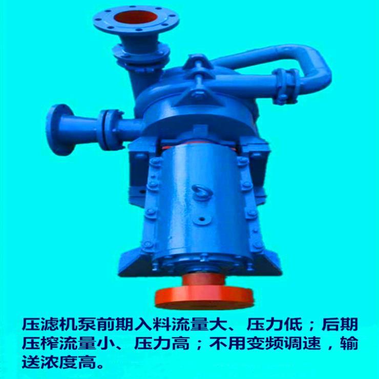 行业新闻:高压节能压滤机泵】乐昌浮选高浓度喂料泵