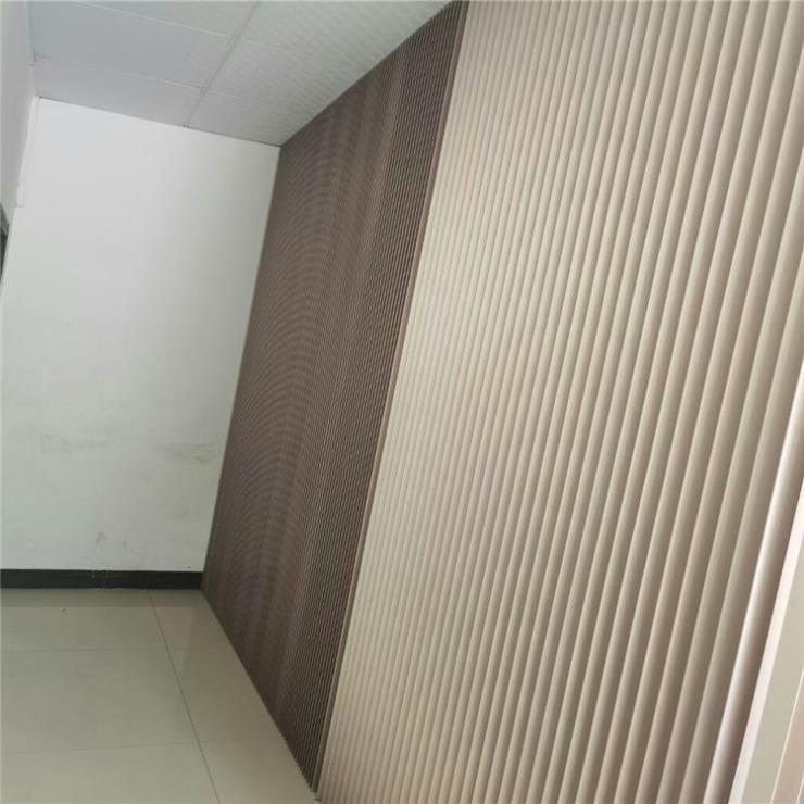 铝型材波浪板 商铺墙面装饰铝板 金属装饰材料