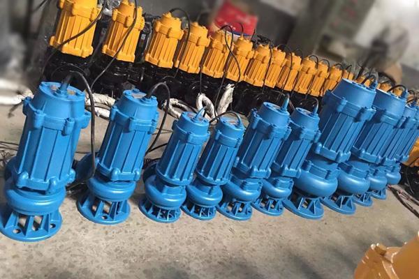 150WQ150-7-7.5切割式污水泵,污水泵浮球开关
