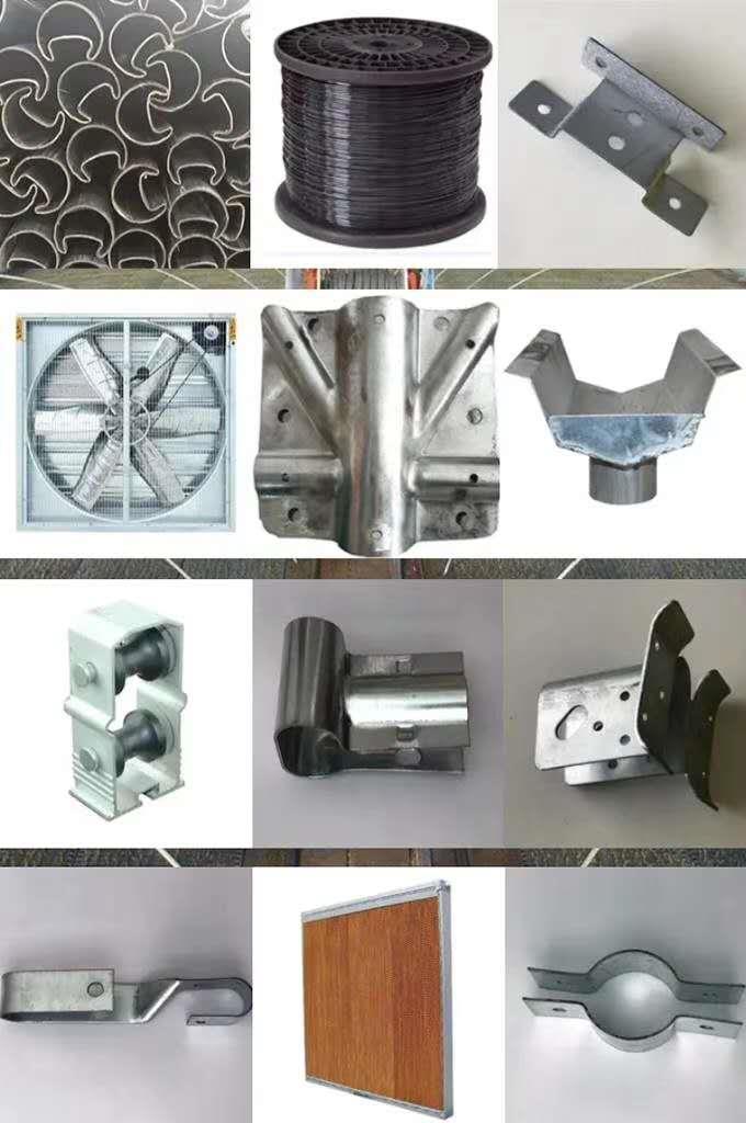 宁夏镀锌大棚管生产厂家配件种类