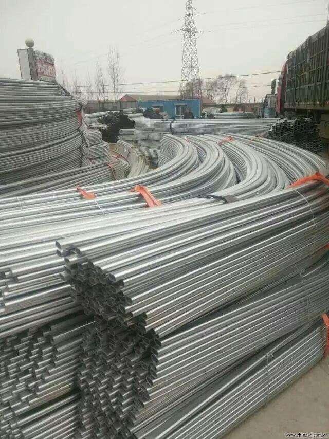 陇南成县热镀锌大棚管管多少钱一吨