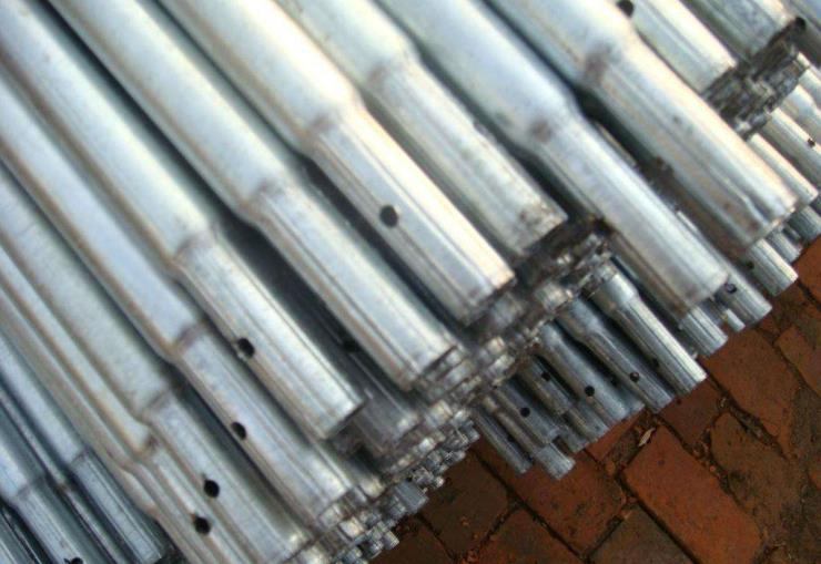 扬州广陵大棚管GP622蔬菜大棚管 6分25*1.5镀锌管8米10米定货