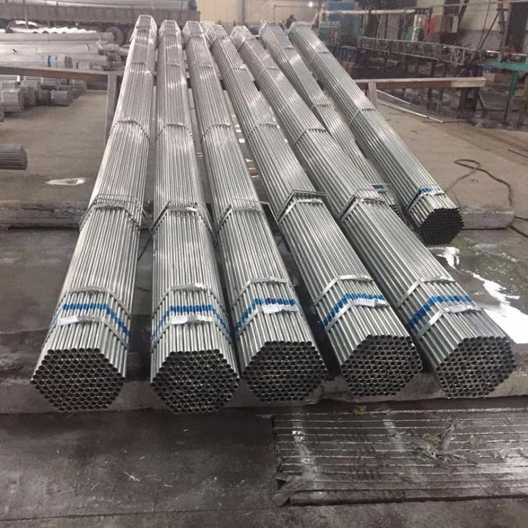 烟台招远大棚管GP622蔬菜大棚管 6分25*1.5镀锌管8米10米定货