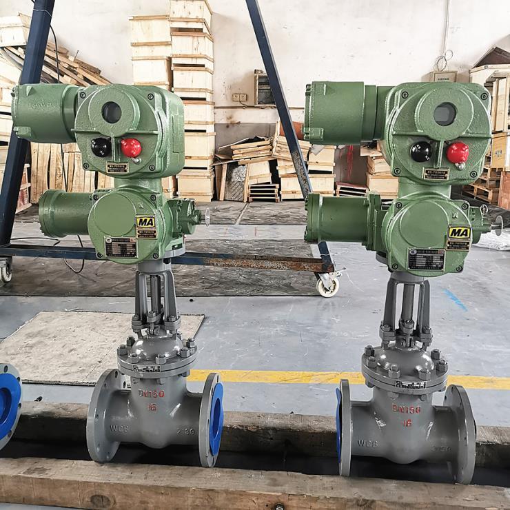 ZJK941H-250C矿用电动闸阀 矿用隔爆兼本安型一体化