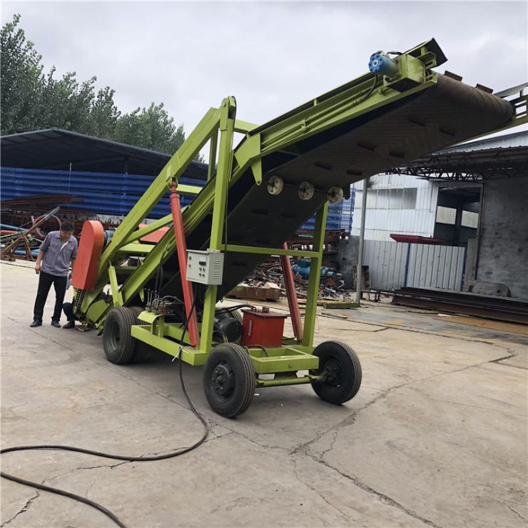 夏津县牧场青贮垛快速取料机 移动式电动取草机 高空扒草机