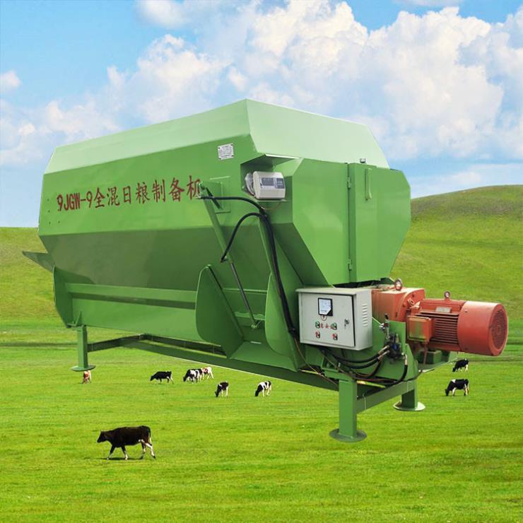 伊春多功能混料机 电动双轴搅草机 搅拌机