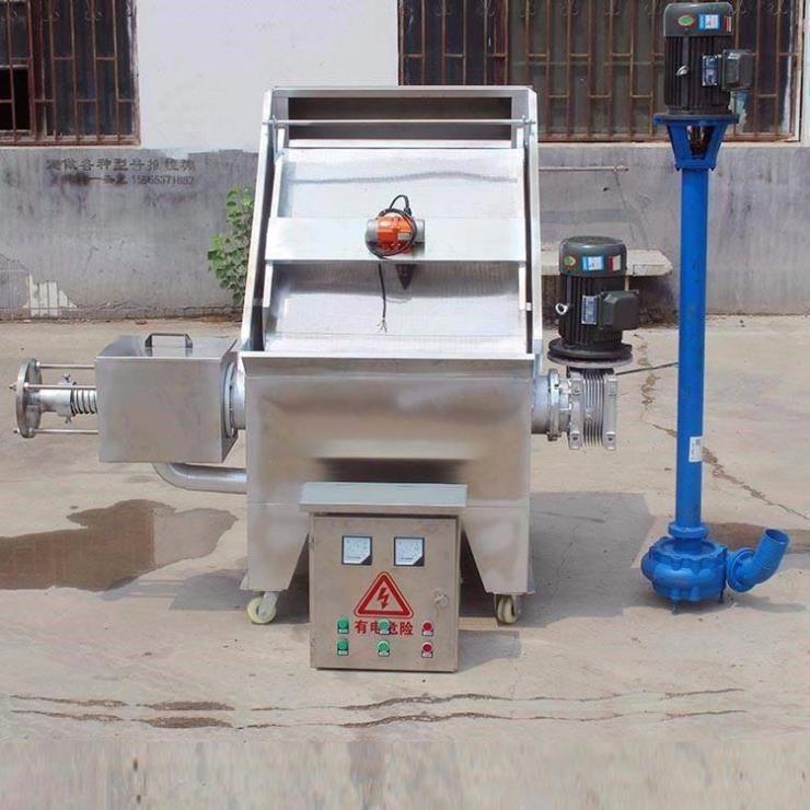 东果渣脱水机 400型甩粪机 干湿分离机
