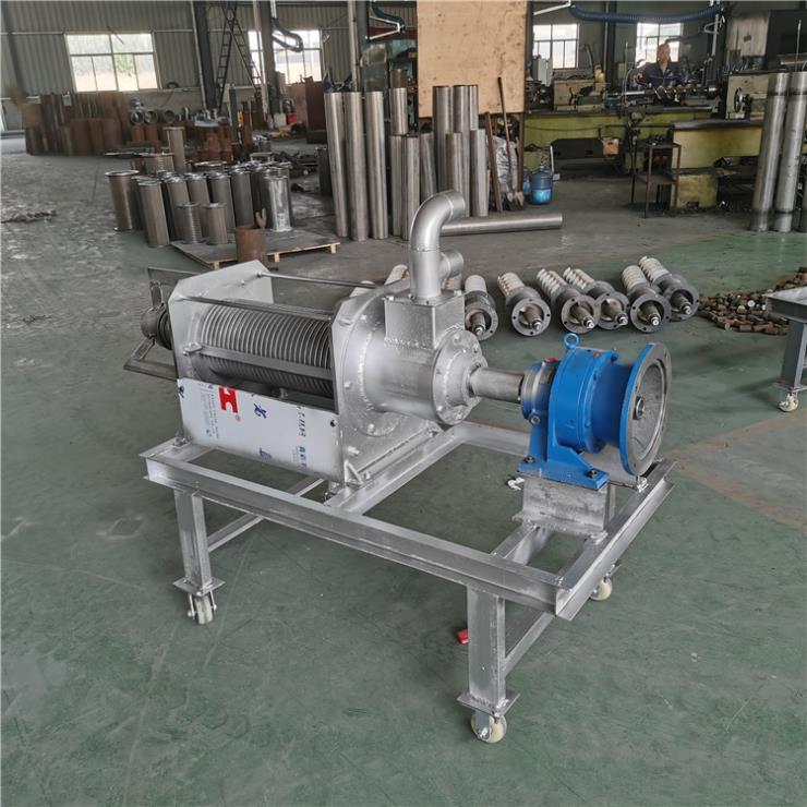 泗水县螺旋挤粪机 不锈钢脱水机 干湿分离机