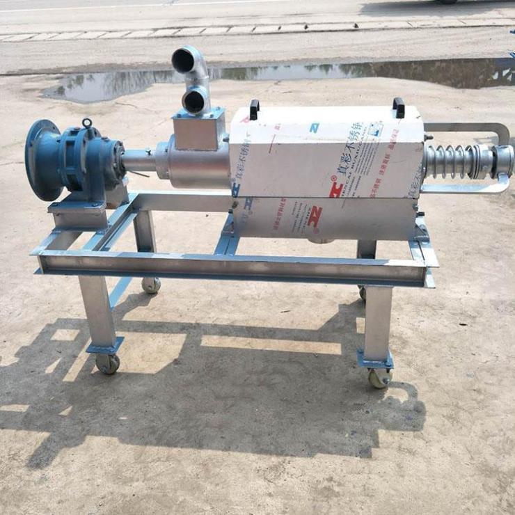 封丘县180型挤粪机 粪污处理机 干湿分离机